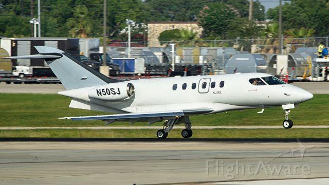 Emivest SJ30 (N50SJ) - 22 arrival.