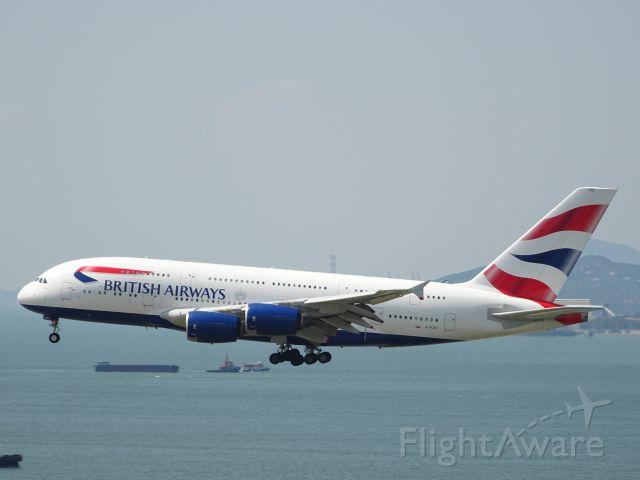 Airbus A380-800 (G-XLEC)