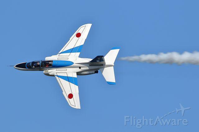 KAWASAKI T-4 — - JASDF-Iruma air show<br />Blue Impulse