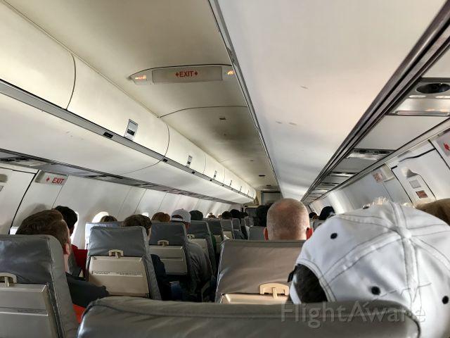 de Havilland Dash 8-300 (N329EN) - In flight between GSP and CLT.