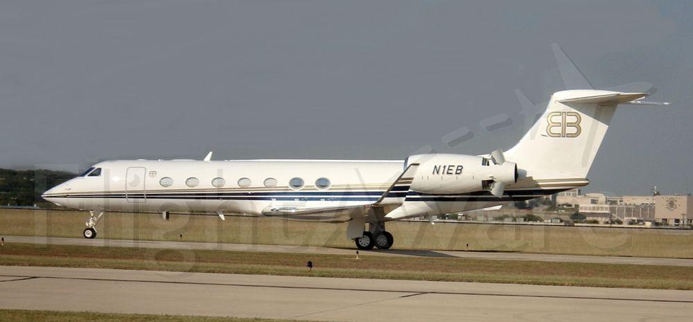 Gulfstream Aerospace Gulfstream V (N1EB) - Rush Limbaugh,Gulfstream on loan from God,don