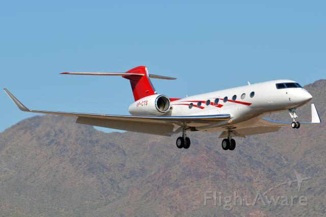 Gulfstream Aerospace Gulfstream G650 (VP-CTS)