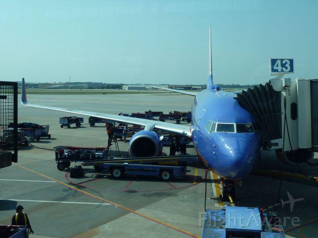 Boeing 737-700 — - KHOU to KBNA