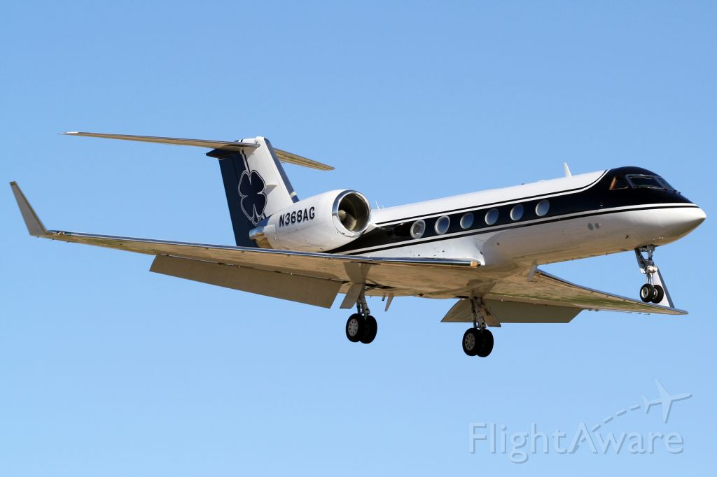 Gulfstream Aerospace Gulfstream IV (N368AG) - Gulfstream GIV inbound to Scottsdale from Snohomish County (KPAE)