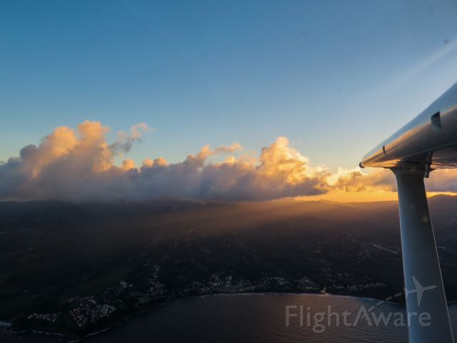 Cessna Skylane (N1967X) - Descent to TFFF