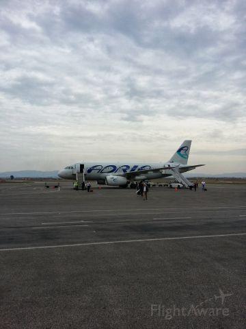Airbus A319 — - Adria A319 at Prishtina Intl Airport.