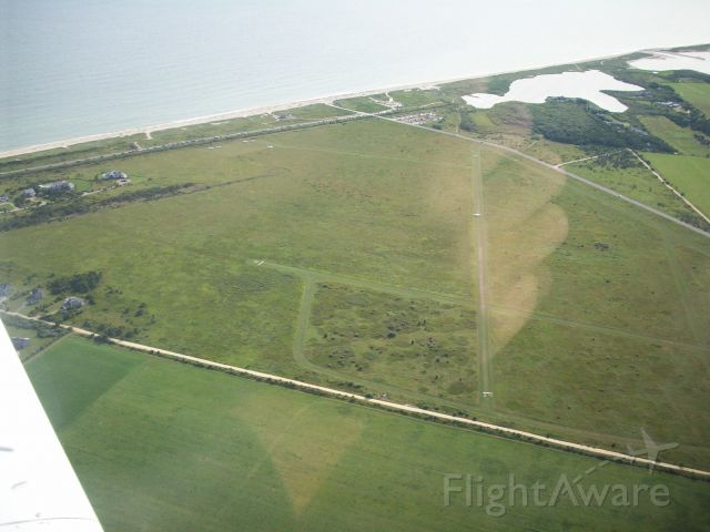 Piper Saratoga — - Katama Airpark - top left is the Beach parking lot.
