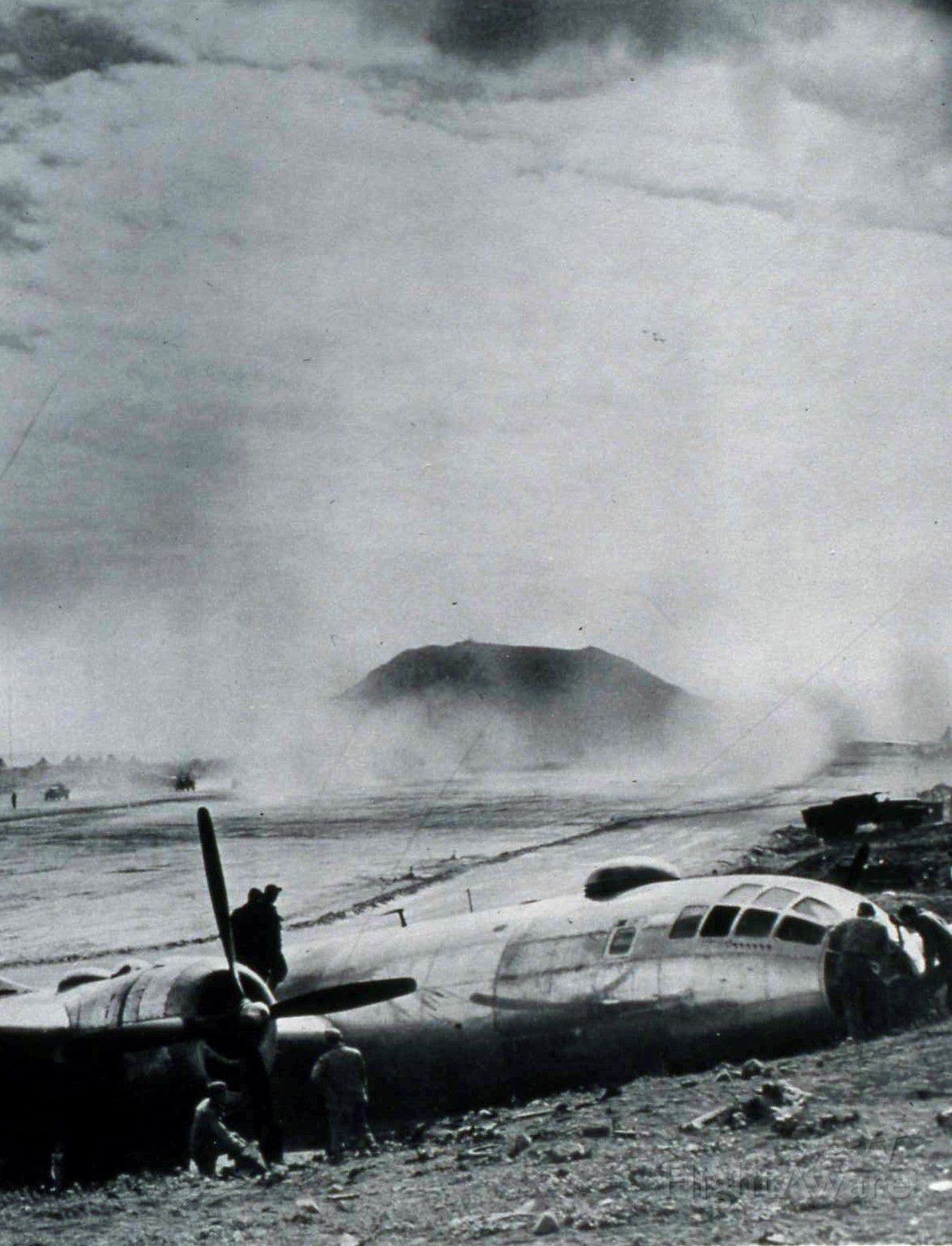 Boeing B-29 Superfortress — - On beach near Suribachi