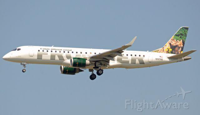 Embraer 170/175 (N167HQ) - Imaged on 5/23/12