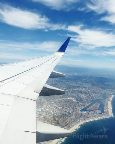 Boeing 737-700 — - Los Ángeles vista desde Copa Airlines.....