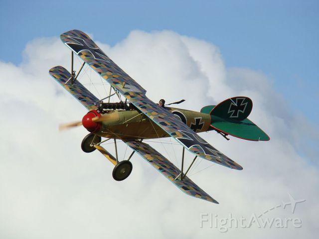— — - Albatros DVa, Anzac Day Airshow, Masterton, New Zealand
