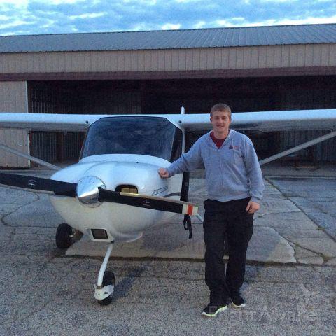 Cessna Skycatcher (N6035U) - First Solo