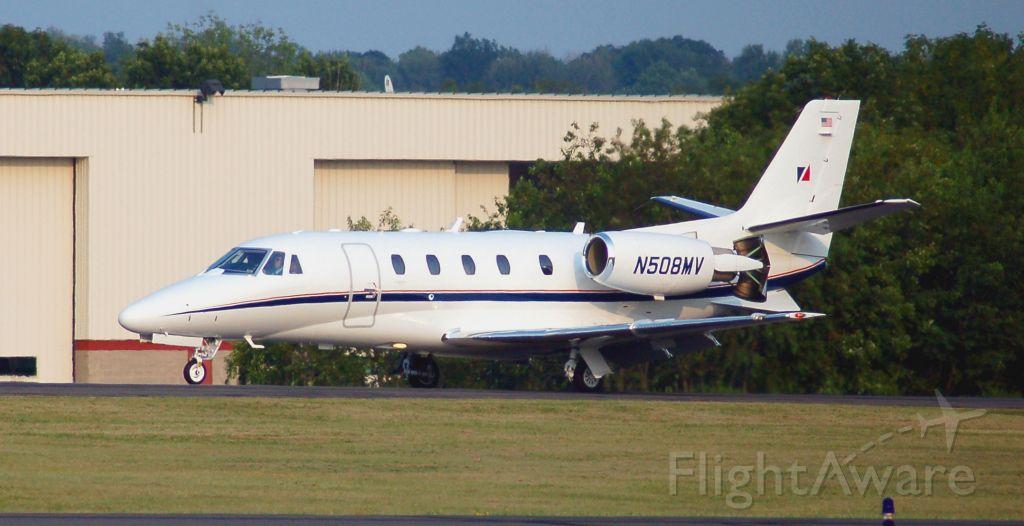 Cessna Citation V (N508MV) - N508MV rolling in yet again OXC