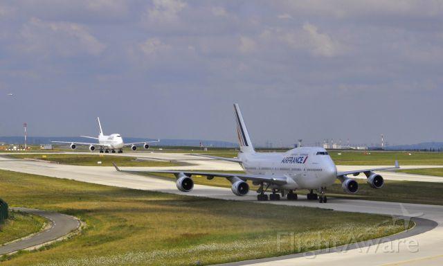 Boeing 747-400 (F-GITJ) - Air France Boeing 747-428 F-GITJ in Paris