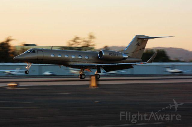 Gulfstream Aerospace Gulfstream IV (N721FF) - By- Fernando Sedeno