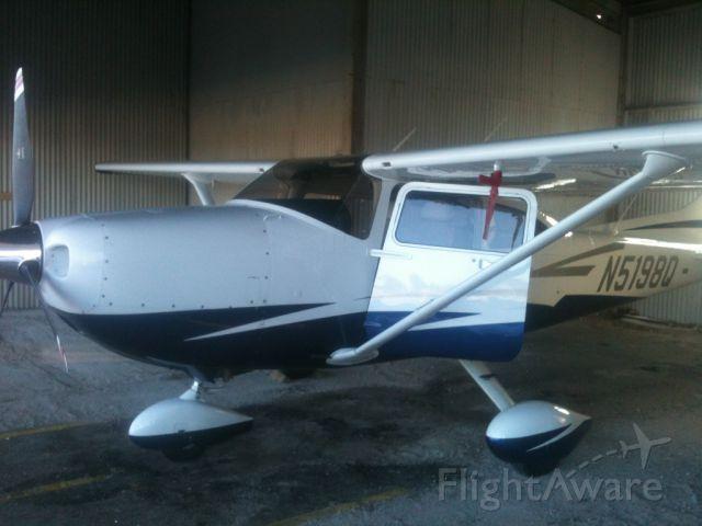 Cessna Skylane (N5198Q) - In the old T5 at KYNG