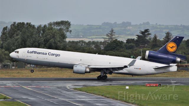 Boeing MD-11 (D-ALCK) - lufthansa cargo md-11f d-alck dep shannon 6/8/19.