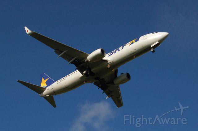 Boeing 737-800 (JA737U) - JA737U  Skymark Airlines  737-800  Boeing 737-8FZ  c/n 29680/2888