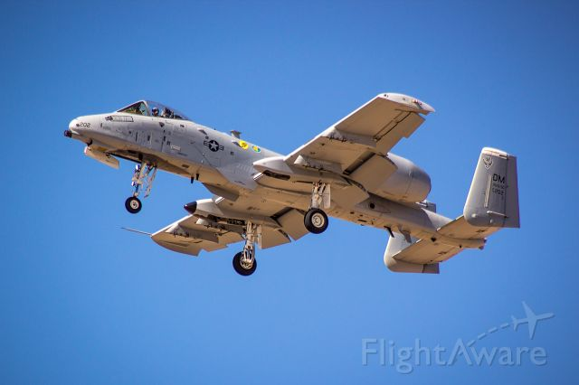 """Fairchild-Republic Thunderbolt 2 — - A US Air Force A-10 Warthog does a dirty pass at the 2018 Luke Days Airshow.<br /><br /><a rel=""""nofollow"""" href=""""http://www.ThePilotsEye.com"""">www.ThePilotsEye.com</a>"""
