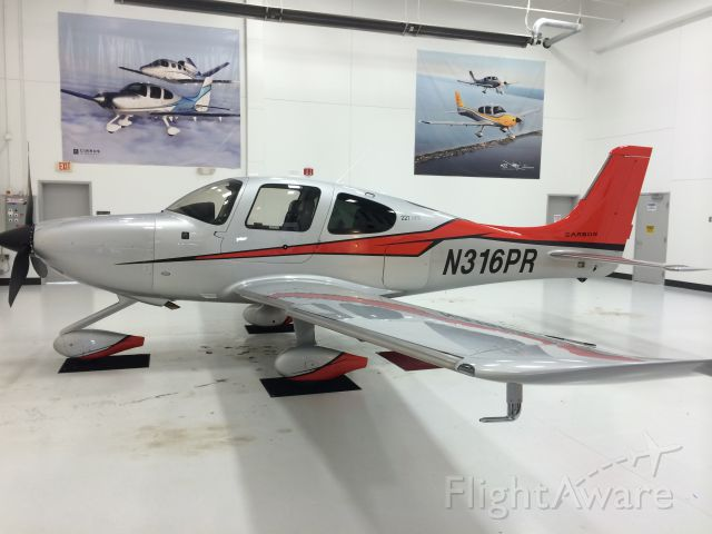 Cirrus SR-22 (N316PR)