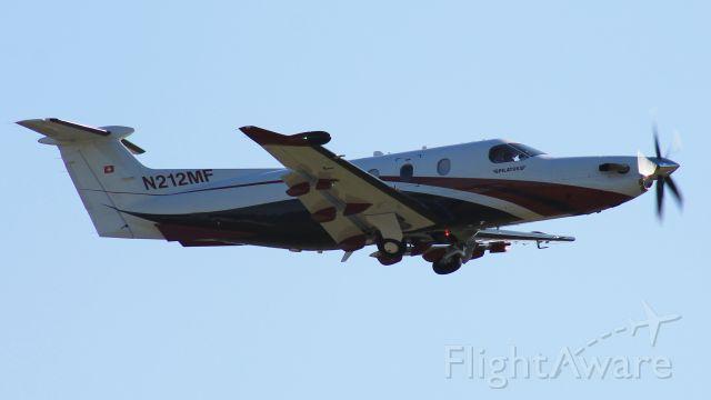 Pilatus PC-12 (N212MF)