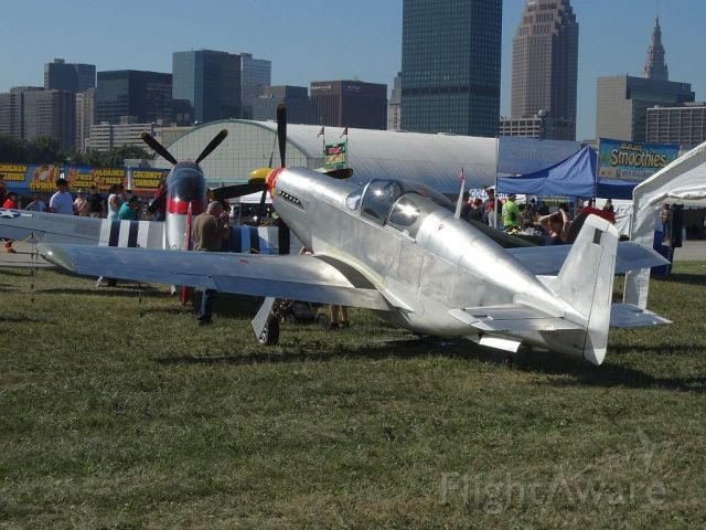 TITAN T-51 Mustang (N751TA)