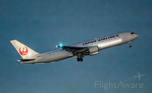 BOEING 767-300 (JA603J)