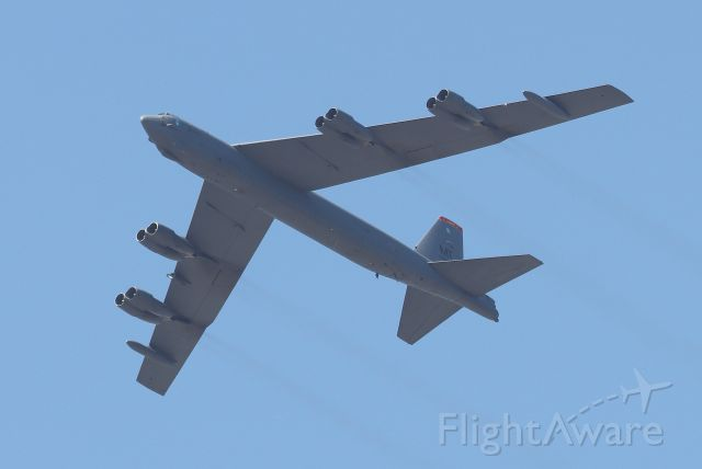 Boeing B-52 Stratofortress (60-0007) - From the 23rd Bomb Squadron at Minot AFB, North Dakota at the Great Cities of the American Revolution flyover on July 4, 2020 over the Charles River, Cambridge, MA