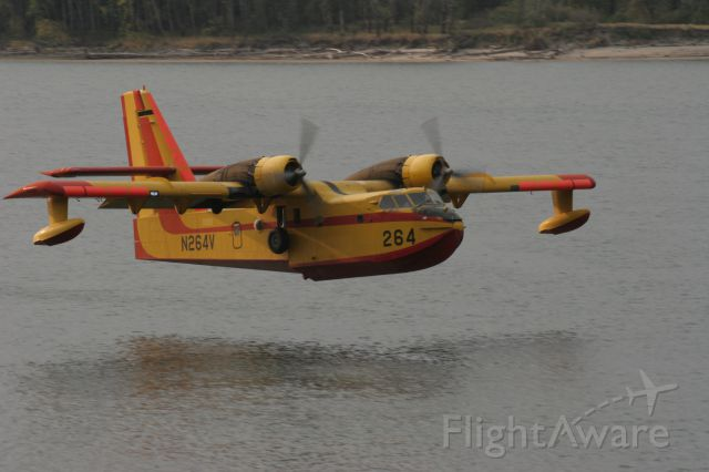 N264V — - Ready to scoop H2O on the Columbia River by Troutdale, Oregon.