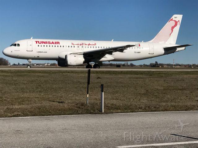 Airbus A320 (TS-IMP) - Bargellino - Pista 12