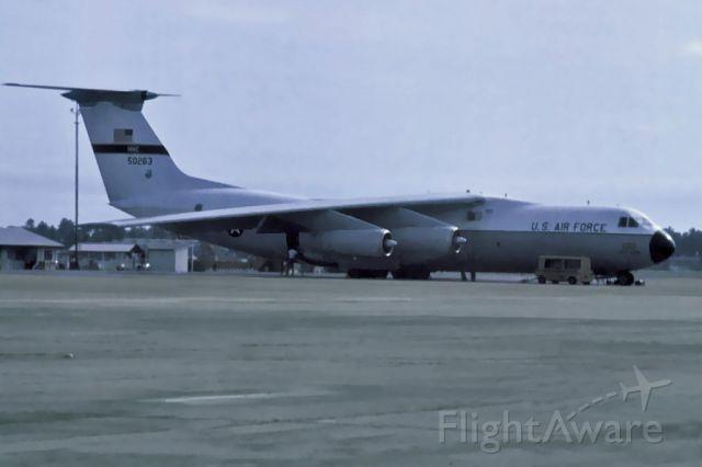 Lockheed C-141 Starlifter (65-0263) - Lockheed C-141A Starlifter USAF 65-0263     ,Butterworth Malaysia 1975.