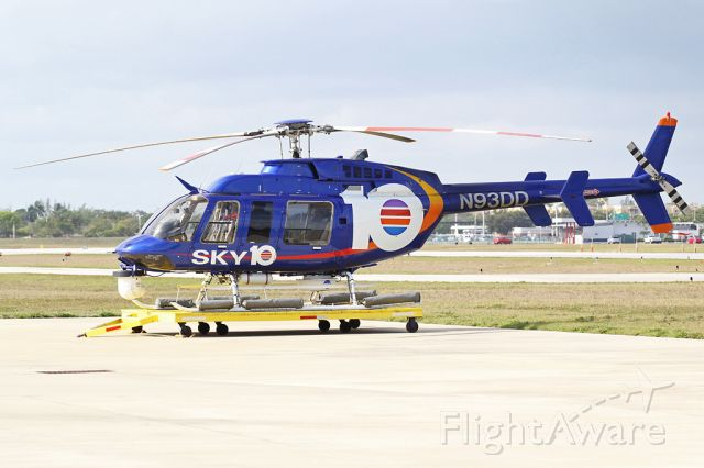 Bell 407 (N93DD) - HELICOPTERS INC