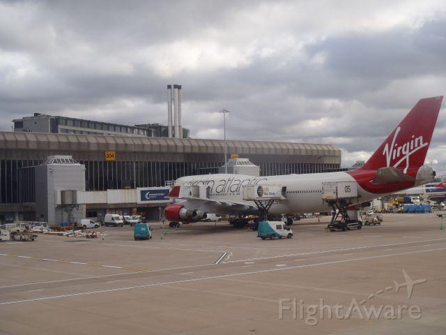 — — - Leaving Manchester T2 on earlier Virgin flight for Orlando