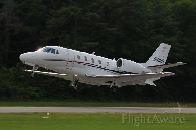Cessna Citation Excel/XLS (N40HC)