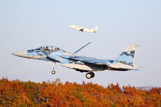 McDonnell Douglas F-15 Eagle (72-8090) - japan air self defence foce F-15DJ Aggressor squadron