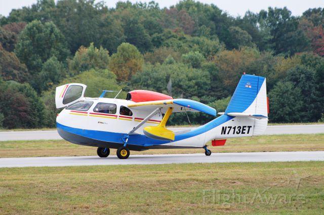 Experimental 100kts-200kts (N713ET) - Republic RC-3
