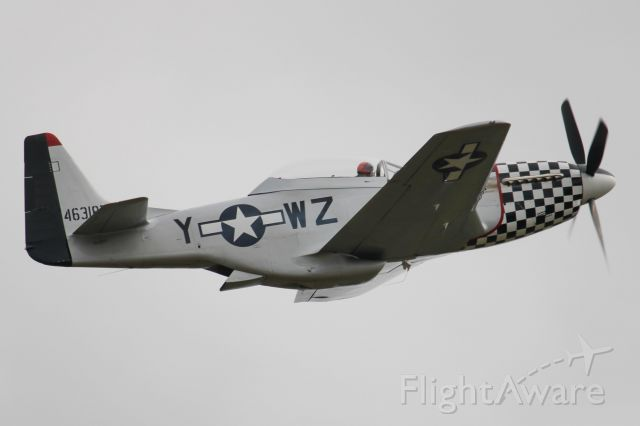 North American P-51 Mustang (N20TF)