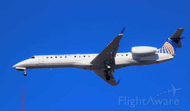 Embraer EMB-145XR (N24103) - Inbound from CMH -- ASQ4295