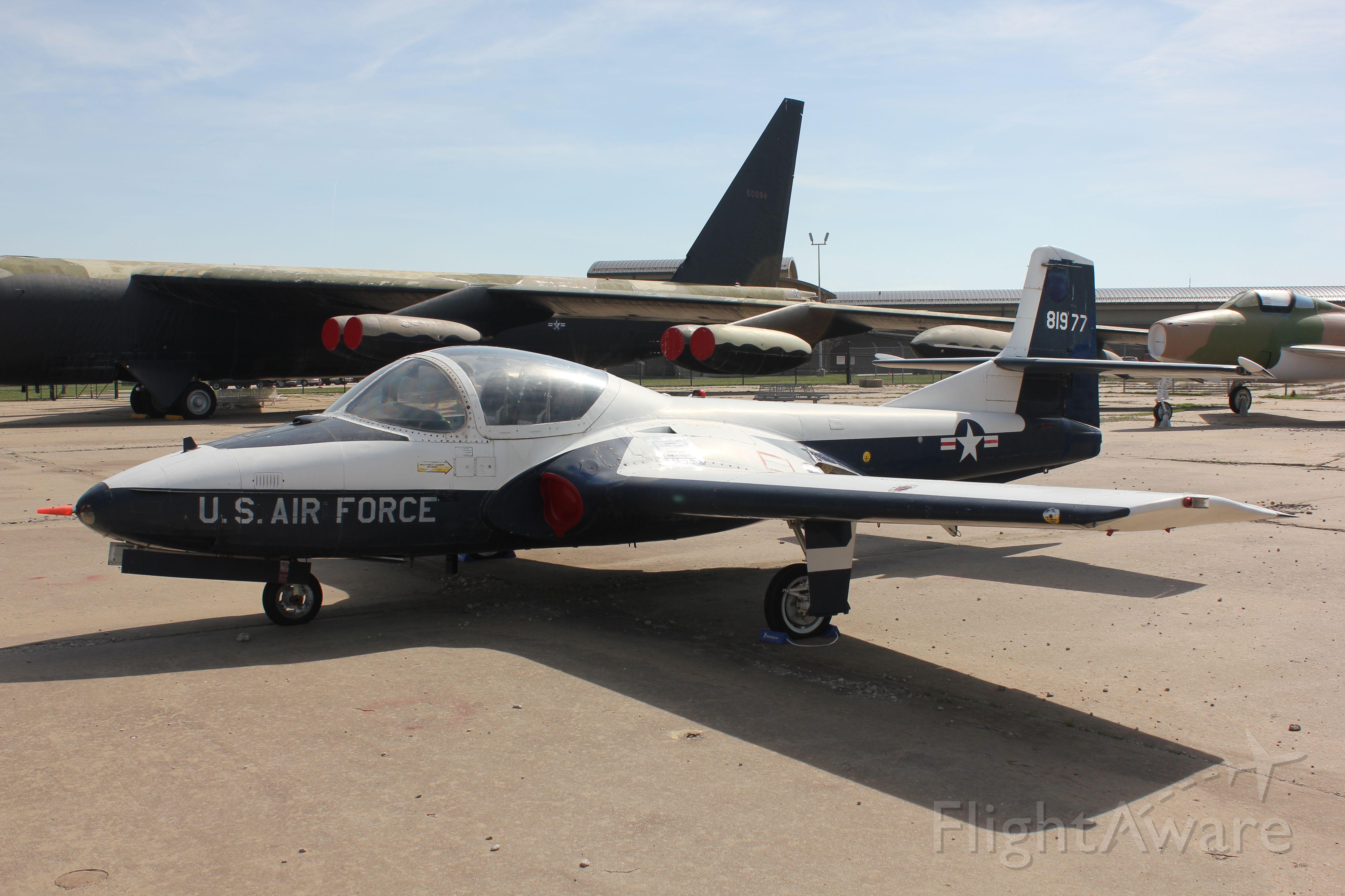 Cessna 318C (58-1977) - Cessna T-37 Tweety Bird at the Kansas Air Museum in Wichita.