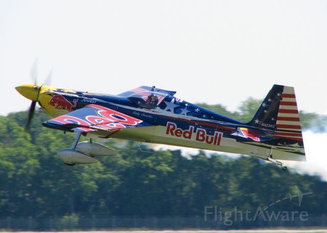 EXTRA EA-300 (N423KC) - At Barksdale Air Foce Base. Edge 540.