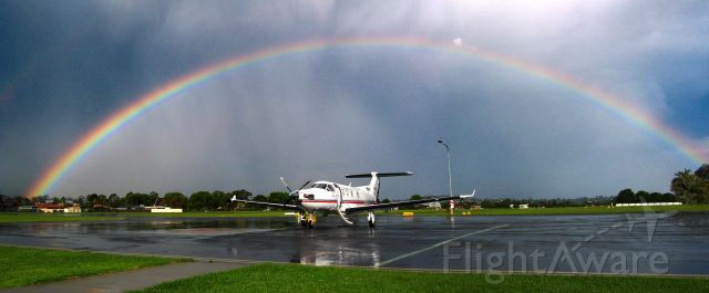 Pilatus PC-12 (VH-FDP)