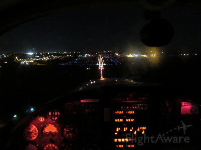 PZL-OKECIE PZL-111 Koliber Senior (N333RA) - Final to runway 28