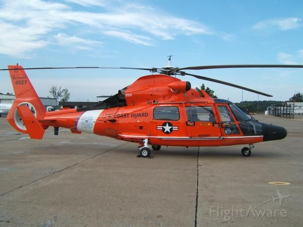 VOUGHT SA-366 Panther 800 (N6527) - Coast Guard Helicopter