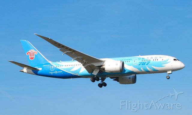 Boeing 787-8 (B-2725) - Taken from the threshold of 29L