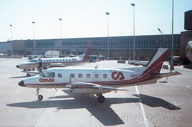 N60CZ — - One of the original types flown by COMAIR seen in August of 1986 in Indy.