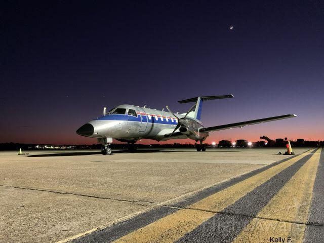 Embraer EMB-120 Brasilia (N561SW) - February evening in Shreveport, LA. 2020.