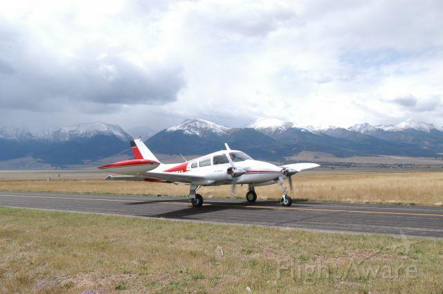 Cessna 310 (N8177M) - Silver West Colorado  Great Trip