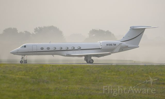 Gulfstream Aerospace Gulfstream V (N1967M) - Runway 02L departure @KDPA.