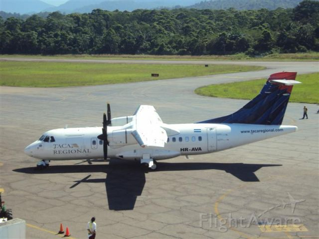 Aerospatiale ATR-42-300 (HR-AVA)