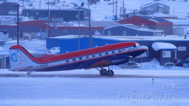 Douglas DC-3 (turbine) (C-GHGF) - The Polar 6, a Basler BT-67, DC3, owned by Kenn Borek Air, operated by the Alfred Wegener Institute, for polar/arctic studies.
